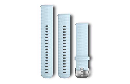 Garmin Silikonarmband Schnellwechsel-Armband, Blau, M