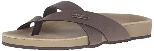 Volcom SELFIE SANDALS SPRING 16 Brown