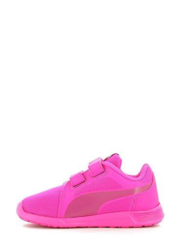 Puma St Trainer Evo V Inf, Sneakers Basses Mixte enfant Rose