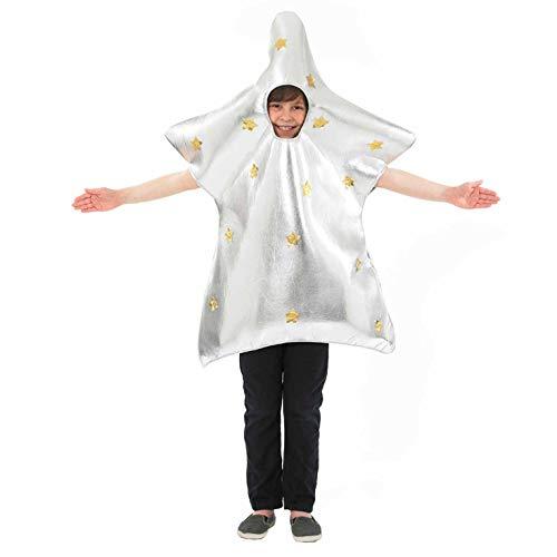 Star Kostüm Christmas Children's - Fun Shack FNK3468 Kostüm, Unisex Children, Stern, Einheitsgröße