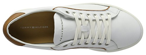 Tommy Hilfiger Herren M2285ount 4a1 Low-Top Weiß (White 100)
