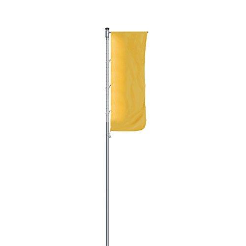 MANNUS Alu-Fahnenmast, beleuchtet - mit Ausleger, Höhe über Flur 10 m - Fahnenmasten Masten Fahnenstangen Fahnenmasten Masten Fahnenstangen Fahnenmasten Masten Fahnenstangen Fahnenmasten Masten Fahnenstangen
