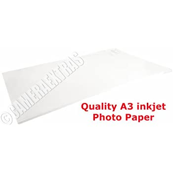 50 Sheets ICE A4 130gsm Self Adhesive Glossy Paper