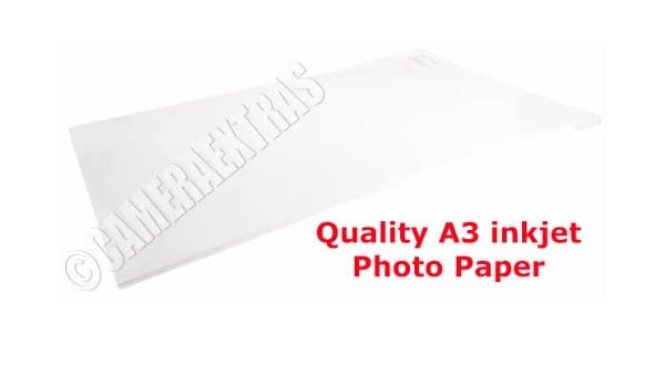 Premium A3 260gsm Photo Paper Gloss//Glossy for inkjet printers Various Packs