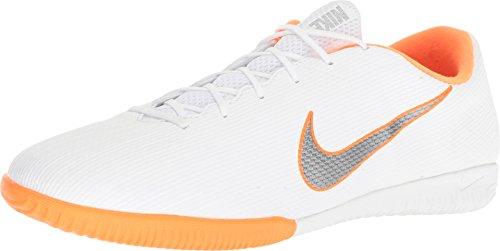 Nike Herren Mercurial Vapor 12 Academy IC Fußballschuhe, Weiß (White/Chrome-Total O 107), 44 EU