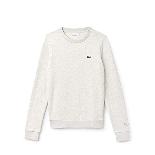 Lacoste Sport Damen Sweatshirt Sf7975, Grau (Alpes Grey Chiné Ht1), 36 (Herstellergröße: 38)