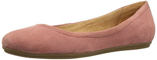 Naturalizer Women's Brittany Ballet Flat, Peony Pink, 9.5 W US -