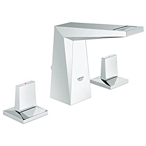 Grohe Allure Brilliant – Grifo para baño pop-up waste tamaño M (tres agujeros) Ref. 20342000