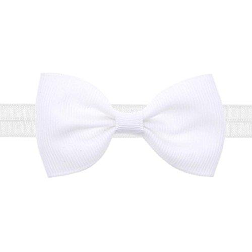 BeautyTop 1PC Baby scherzt Mädchen nette mini Bowknot Hairband elastisches Stirnband (Ohren Disney Stirnband)