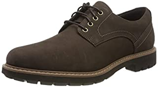 Clarks Batcombe Hall, Scarpe Stringate Derby Uomo, Marrone (Dark Brown Nub Dark Brown Nub), 42 EU (B07MJ7GNRN) | Amazon price tracker / tracking, Amazon price history charts, Amazon price watches, Amazon price drop alerts