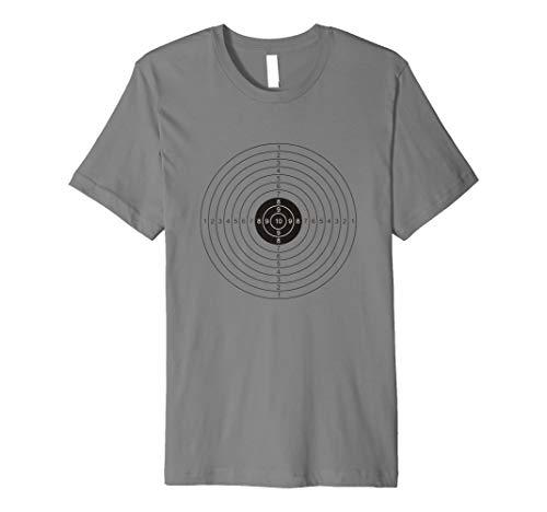 (Funny Bullseye Papier Ziel Halloween-Kostüm T-Shirt)