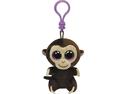 Beanie Clips - Coconut llavero mono color marrón