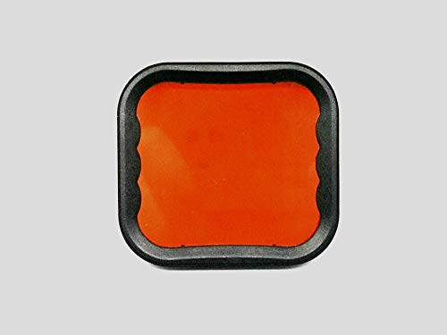 iStudio - Filtro Rojo para Caja de Buceo Original Super Suit GoPro para GoPro Hero 5/6/7noir