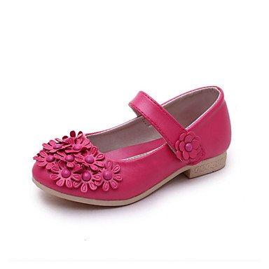 LIDOG Décontracté-Rose Rouge Blanc-Talon Bas-Confort Light Up Chaussures-Sandales-Polyuréthane Red