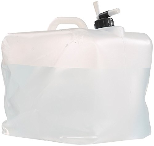Semptec Urban Survival Technology Kanister: Faltbarer Wasserkanister mit Zapfhahn, 20 Liter, ideal für Trinkwasser (Wasser-Kanister)