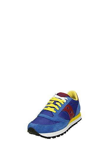 Saucony , Baskets pour homme Blu/gialla