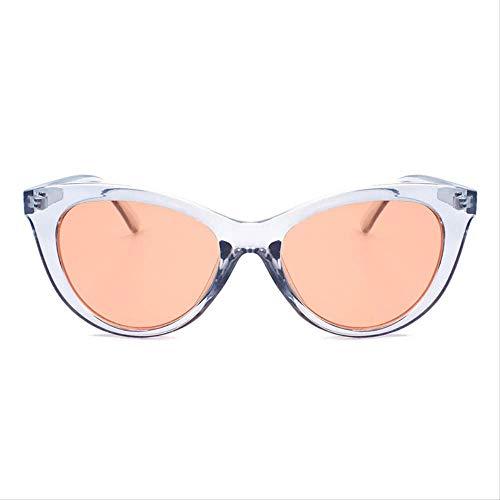 ZHAS Sonnenbrillen Vintage Sonnenbrillen Damen Herren Rot Klar Farbe Objektiv Sonnenbrille Für Damen Kleine Rahmen Schattierungen Weiblich Herren Sonnenbrillen sind aus hochwertigen Materialien f