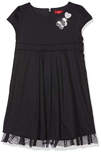 s.Oliver Mädchen 53.808.82.2814 Kleid, Blau (Dark Blue 5940), 116 (Mädchen Band Kleid)