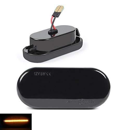 DoLED LED Seitenblinker Blinker schwarz black smoked D28I23O13-1-B
