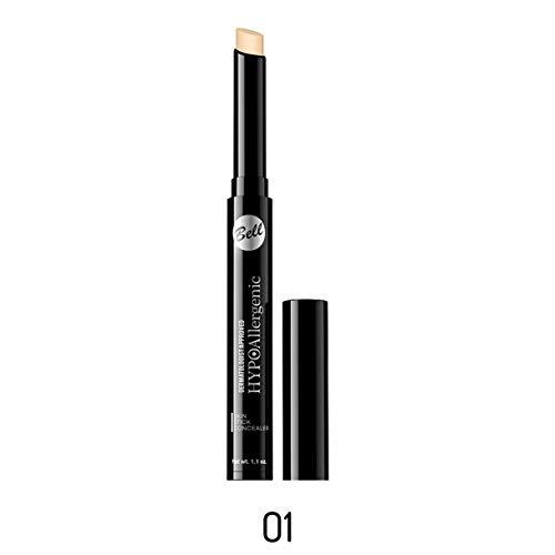 Correcteur de teint matifiant hypoallergénique N°1 beige leger Stick - Idéal peau sensible - Bell