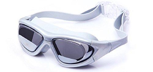 Schwimmen Schutzbrillen, Embryform Clear Schwimmen Schutzbrillen Keine Leaking Anti Fog UV Schutz Triathlon Schwimmbrille mit freiem Schutz Fall für Erwachsene Männer Frauen Jugend Kinder Kind, YG1A3