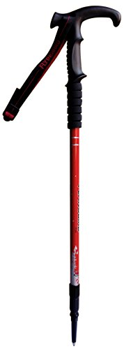 Trekking Poles, Adjustable Retractable Anti-Shock Durable Aluminum Hiking Sticks for Outdoor Walking Trekking Climbing, (Random Color))