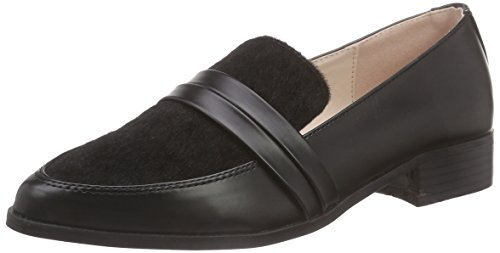 Dolcis Perla Ladies Mocassino Nero (nero)