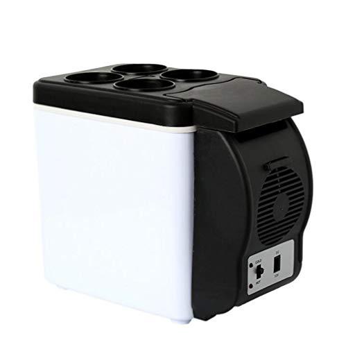 Preisvergleich Produktbild STEAM PANDA Autokühlschrank 12v Kühlbox Tragbare Autonutzung 6L Höhe 25cm * Breite 30cm * Dicke 16.5cm