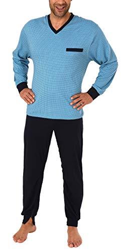 Normann Care Herren Pflegeoverall Langarm mit Reissverschluss an Hose + Rücken 181 170 90 418 Rücken 57687, Farbe:hellblau, Größe2:XXL