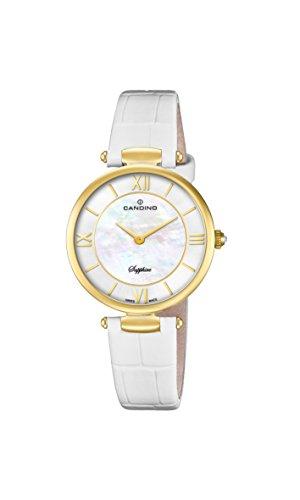Candino Reloj Análogo clásico para Mujer de Cuarzo con Correa en Cuero C4670/1