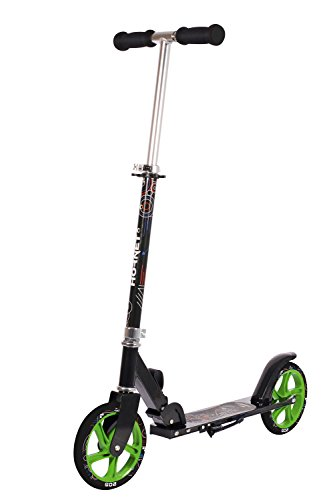 Hudora 14928 Hornet 205 Topf Wheel Big Scooter neongrün