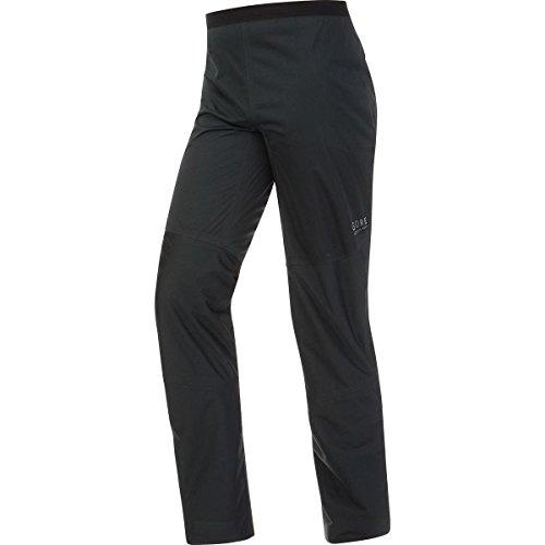 GORE RUNNING WEAR, Pantaloni Corsa Uomo, Impermeabili e leggeri, GORE TEX Active, ESSENTIAL GT AS, Taglia L, Nero, TGESSP990005