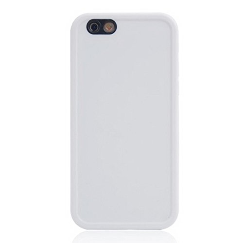 YAN Für IPhone 6 / 6s, Thin TPU + PC Gehäuse mit Front Touchscreen ( Color : Green ) White
