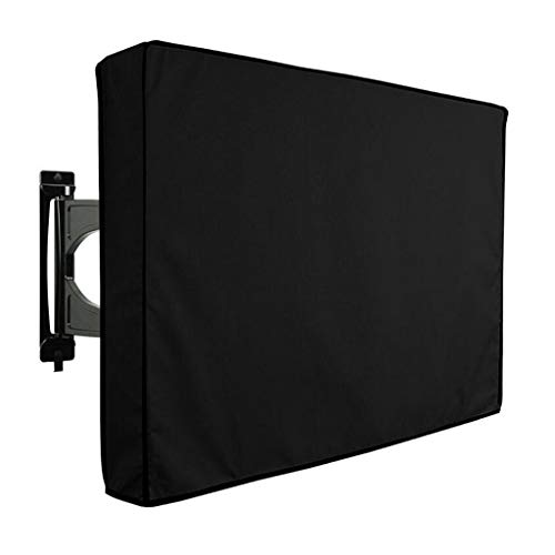tzhülle, Universelle Wetterfeste Schwarze Schutzhülle Für 40-65, LCD, LED, Plasma TV, Aufbewahrungstasche (Size : 60-65 inches) ()