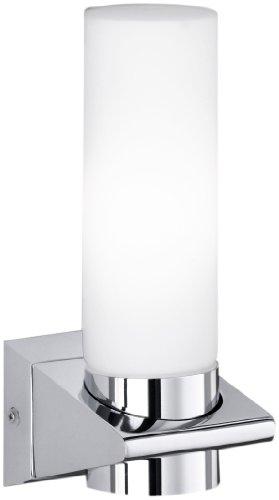 Honsel Leuchten 24801 Honsel Wandleuchte chrom Opalglas matt