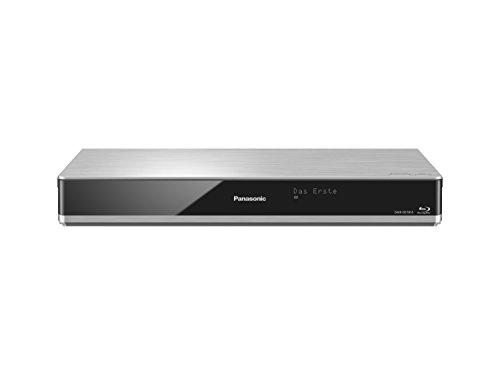 Panasonic DMR-BST855EG Blu-ray Recorder (mit 1 TB Festplatte, für DVB-S, Twin HD Tuner, 4K Upscaling, WLAN, VoD, TV Anywhere, 2x CI+, HbbTV) silber