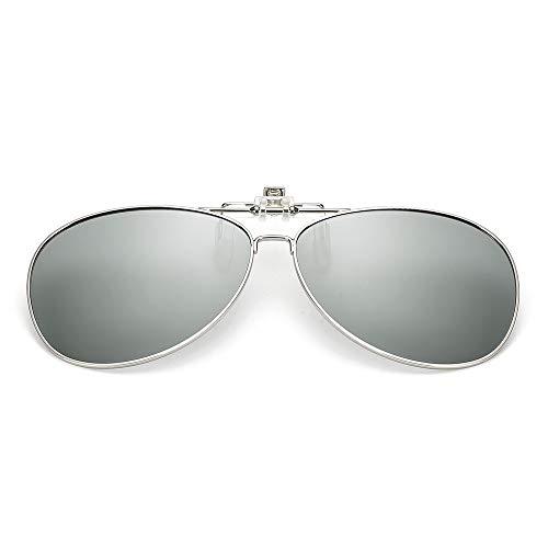 LKVNHP Hohe Qualität 3-8 S Photochrome Polarisierte Sonnenbrille Objektiv Männer Frauen Sonnenbrille Clip Auf Objektiv Dioptrien Verschreibungspflichtige FahrerLuftfahrt