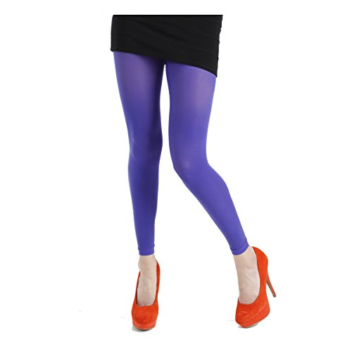 Neon Footless Tights. From UK designer Pamela Mann. These have received excellent reviews from customers at Amazon. Available in six colours.