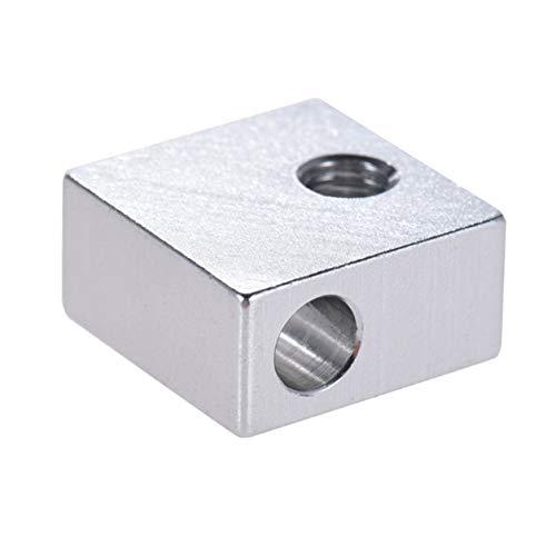 3D Drucker,3D Drucker Zubehör,3D Printer,Aluminium Blockheizung All-Metall-Drucker-Teil Für 3D-Drucker Hot End
