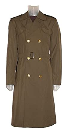New Original Czech Military Trench Coat (Small)