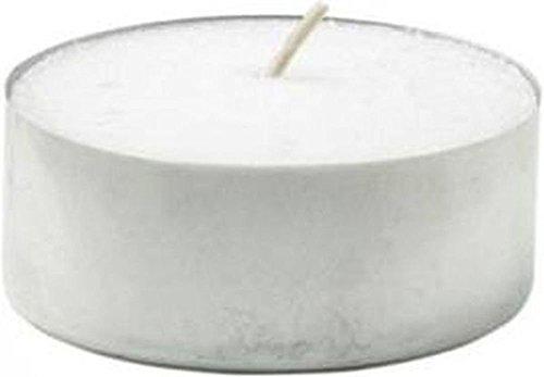 140 ! Stück 12 Std. -Brenner Maxi Teelichter GIES Weiss 6 kg Paraffin Jumbo Teelichte , exklusiv hergestellt für hillfield