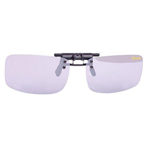 GamakatsuG-Glasses Polarisierender Brillenaufstecker Light Gray White