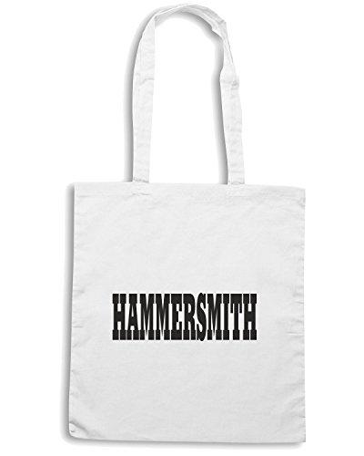 T-Shirtshock - Borsa Shopping WC0721 HAMMERSMITH Bianco
