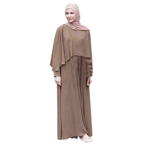 11aff372ff49 Ginli Vestiti Musulmani Abito Musulmano da Donna Rosso Kaudan con Nappa  Rossa E Abiti Islamici Turchi