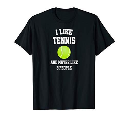 Tolles Ich Mag Tennis Spaß Spruch Sport Geburtstag Geschenk T-Shirt