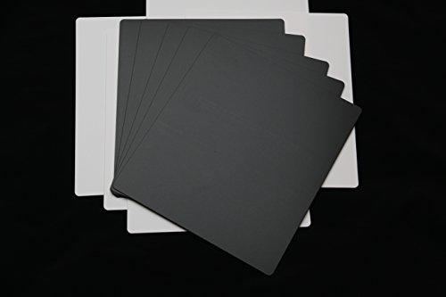 25 St. Single 7 Zoll Register Trennwände schwarz 185x210 mm Registerblatt Registerwände Blätter Wand Schallplatten