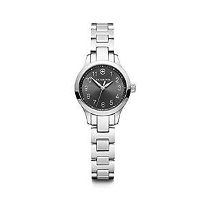 Victorinox Mujer Alliance XS – Reloj analógico de Cuarzo/Cuero de fabricación Suiza de Acero Inoxidable 241839