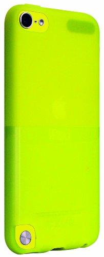 Ozaki O!Coat Wardrobe für Apple iPod touch 5G in gelb [Dünn & leicht | Inkl. Displayschutzfolie | Kompatibel mit Handschlaufe] - OC610YL - Ipod Touch Handschlaufe 5