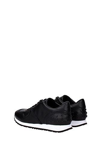 XXW0YO0P26008VB999 Tod's Sneakers Femme Cuir Noir Noir
