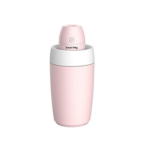 Auto Luftreiniger Luftbefeuchter Aroma HEPA-Filter Negative Ionen-Sauerstoff-Bar Zusätzlich zu Formaldehyd, Rauch, Geruch, PM2.5 Portable Haze Partikelfilter USB-Schnittstelle Weiß, blau, rosa Tri-Col -
